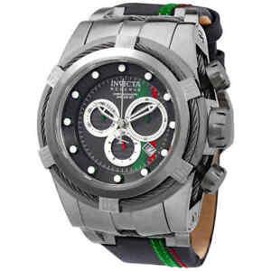 Invicta-Reserve-Chronograph-Black-Dial-Men-039-s-Watch-26470