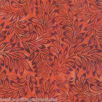 Moda Fabric De La Sol Batiks Flame (4337 13) - By The 1/2 Yard
