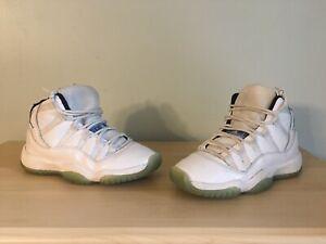 Details about Nike Air Jordan 11 XI Retro Legend Blue BG Youth SZ 6Y ( 378038 117 )