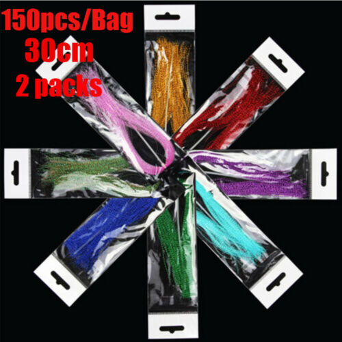 300Pcs Synthetic Fibre Super Hair Fibre Fly Tying Materials for Jig Lure Making