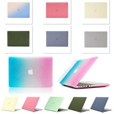 2021 Cream Rainbow Matte PC Case For Macbook Pro Air 11 12 ...