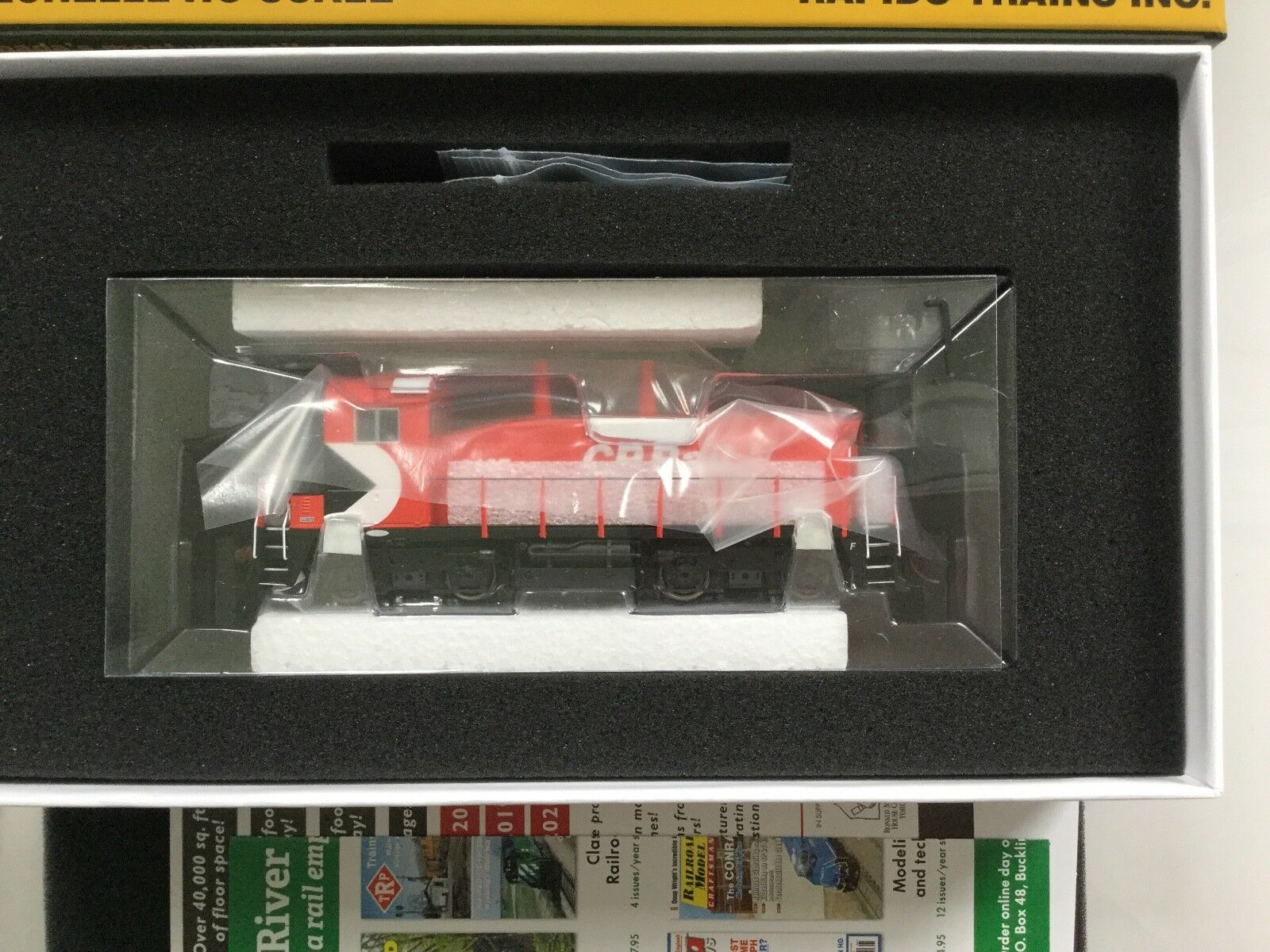 RAPIDO 1 87 HO CP CANADIAN PACIFIC SW1200 RS RD. DCC & SOUND 26524 F S