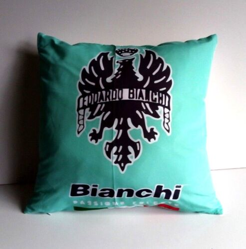 Brand New Bianchi Bikes cycling cushion cover specialissima coppi