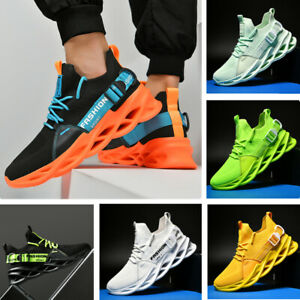 New-Men-039-s-Breathable-Mesh-Sports-Sneakers-Athletic-Casual-Running-Shoes-Outdoors