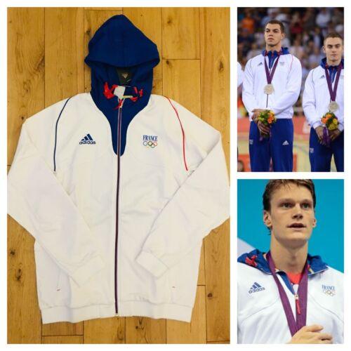 Sweat Pro Nouveau Hommes à sweat Adidas 2012 France Elite à capuche Athlete et Olympique capuche hrCxtdBsQ
