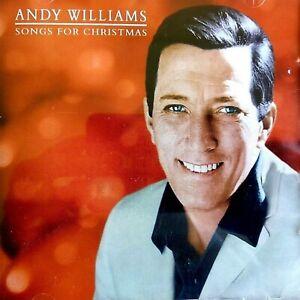 NEW - ANDY WILLIAMS - SONGS FOR CHRISTMAS - Xmas Festive Pop Music CD Album | eBay