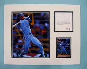 Milwaukee Brewers Robin Yount 1995 Baseball 11x14 MATTED Kelly Russell Print