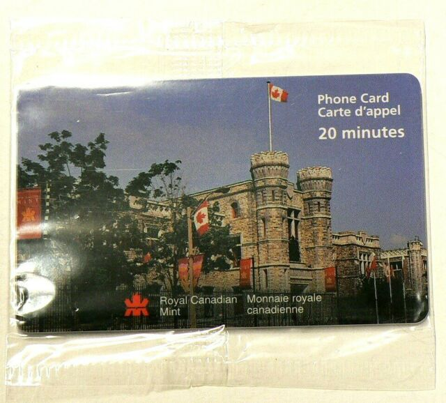 1998 Royal Canadian Mint Calling Card Sealed #3511