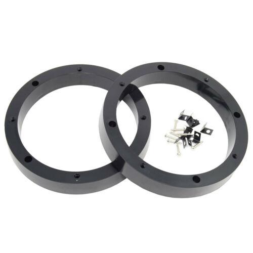 "3 Pair 8.5/"" Plastic Speaker Spacer Rings Subwoofer Custom Mounting Adapter"