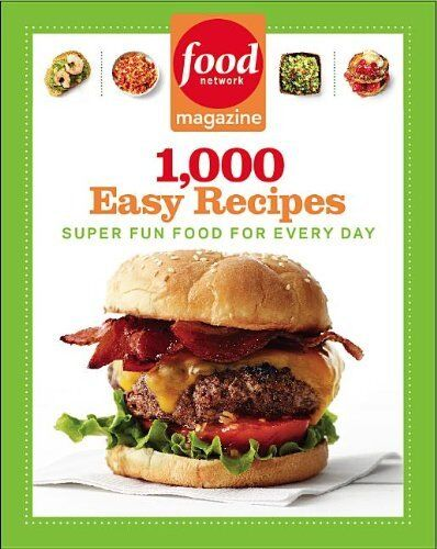 1 of 1 - Food Network Magazine 1,000 Easy Recipes: Super Fun Food for Every Day by Food N