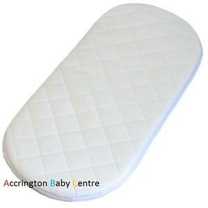 NEW QUILTED BREATHABLE MATTRESS FITS I CANDY PEACH BLOSSOM PRAM LOWER CARRYCOT