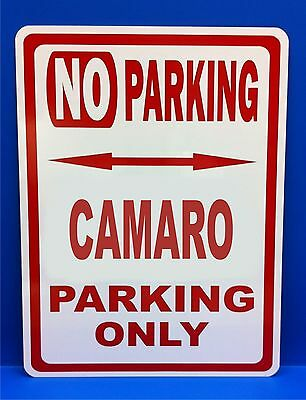 "1991 91 Camaro Chevy Novelty Reserved Parking Street Sign 7/""X10/"" Polystyrene"