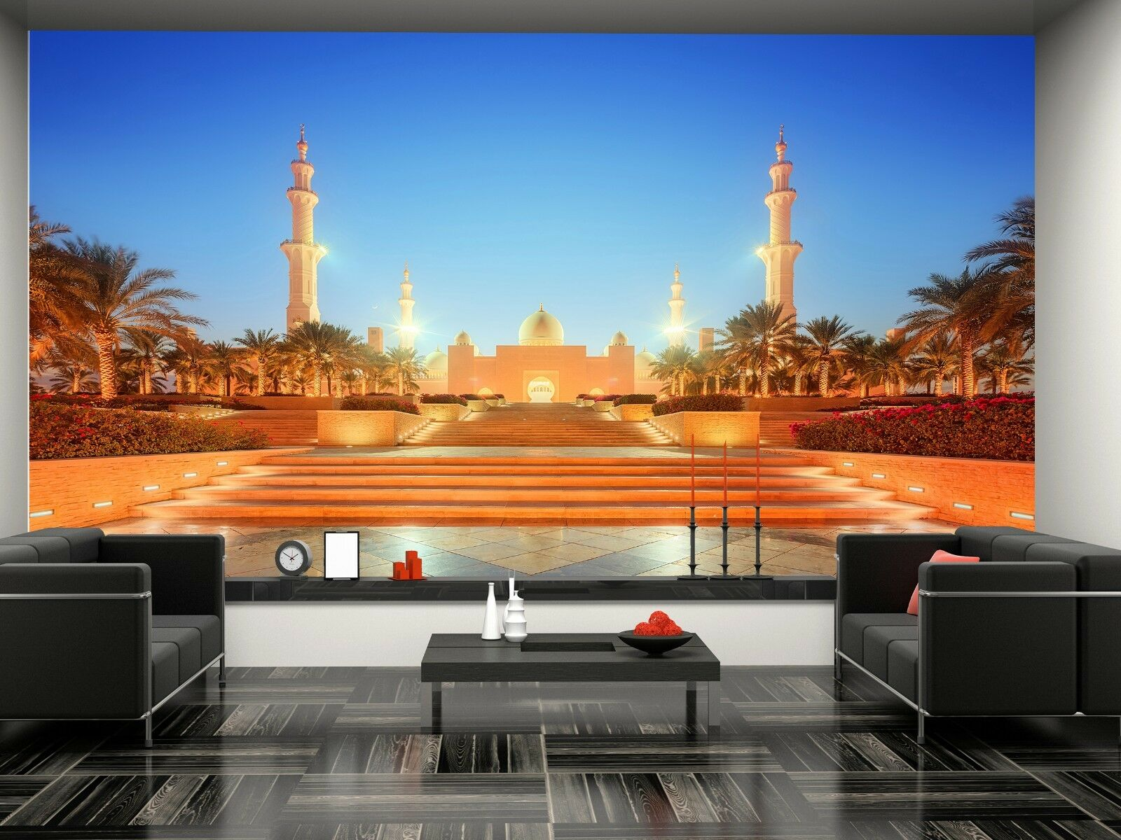 Grand Mosque,Abu-Dhabi Wall Mural Photo Wallpaper GIANT DECOR Paper Poster