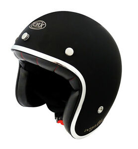 Casque-casco-helmet-jet-TORX-WYATT-noir-gloss-Taille-S-55-56