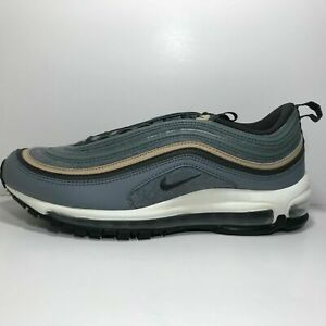 reputable site 51f25 d7905 Nike Air Max 97 Premium Cool Grey Deep Pewter Mushroom Wool Men 312834-003 9