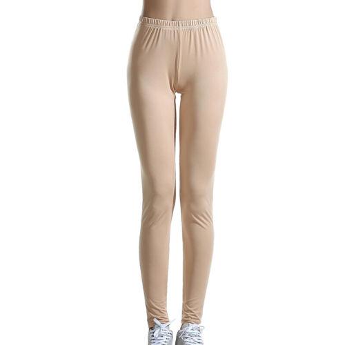 Women Casual Sports Yoga Pants Elastic Waist Stretch Jeggings Slim Fit Trousers