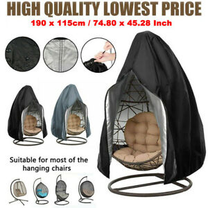 Swing Chair Cover for Hanging Hammock Stand Egg Wicker Seat Patio Garden Outdoor