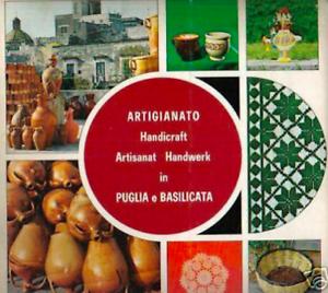 FOLKLORE-ITALIANO-PUGLIA-BASILICATA-ARTE-ARTIGIANATO-BELLA-EDIZIONE-ILLUSTRATA
