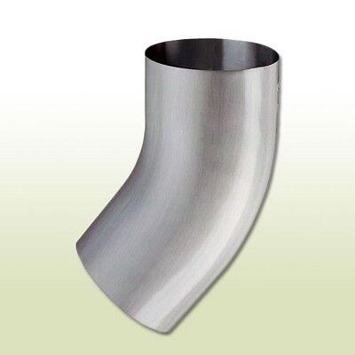 Regenrinnen & Zubehör Aufrichtig Aluminium Fallrohrbogen Dn 100 Heimwerker 40 Grad