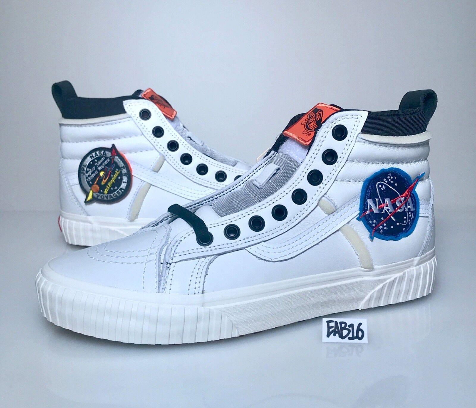 Vans Voyager SK8-HI 46 Mte X Space DX NASA blancoo Naranja VN0A3DO5UO3