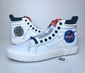 Details about Vans x Space Voyager SK8-HI 46 MTE DX NASA White Orange  VN0A3DO5UO3 Size 8-13