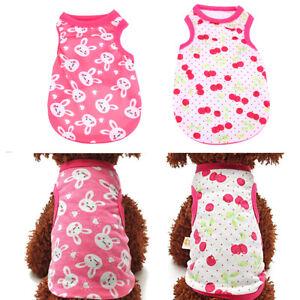 Various-Pet-Puppy-Small-Dog-Cat-Pet-Clothes-Dress-Vest-T-Shirt-Apparel-Clothes
