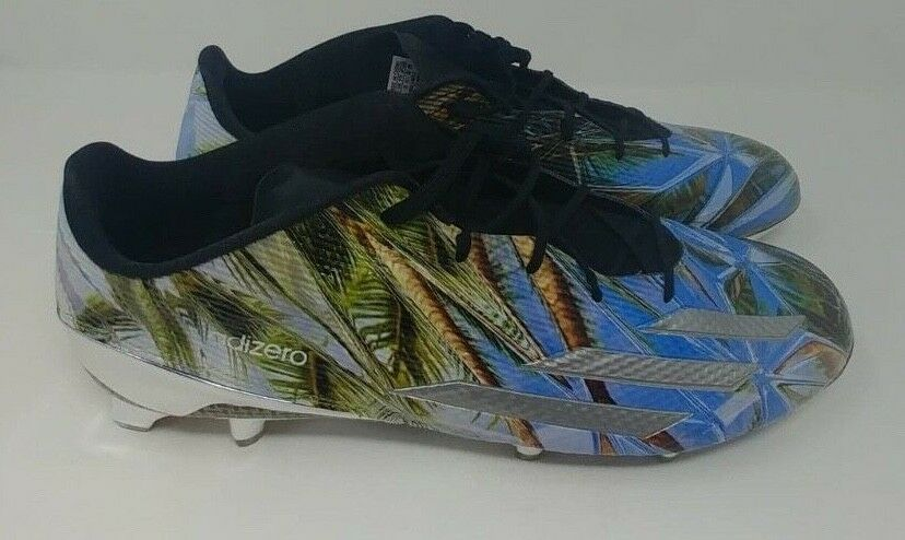 ec099ec6d4d 134 Adidas Mens Adizero 5-Star 5.0 Kevlar Football Cleats Sz 16 AQ7807