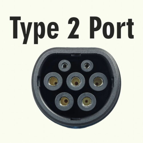 Type 2 MENNEKES Plug Male//Female 32A//7.2kW for Electric Vehicle 1 or 3 Phase