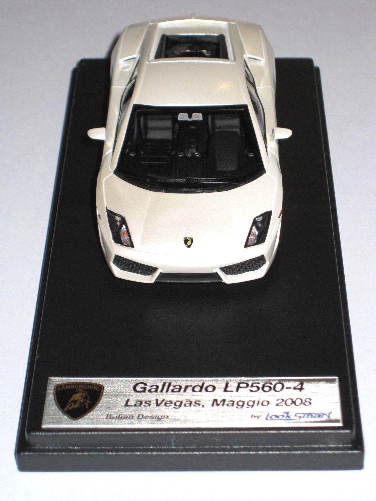 Lamborghini gallardo lp560-4 start   presse   modell looksmart 2008 modell 1 43 selten