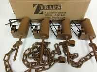 4 Z Trap Dead Grass (pull Only) Dp Dog Proof Coon Trap Trapping Raccoon