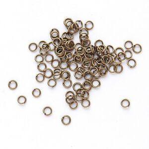 3000-Wholesale-Bronze-Open-Jump-Ring-Finding-4mm-160323
