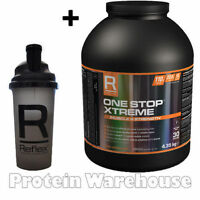 Reflex Official Nutrition One Stop Xtreme 4.3kg Fast Delivery Free Reflex Shaker