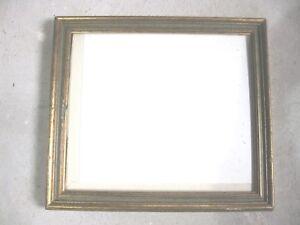 Cornice Per Quadro.Dettagli Su Vecchia Cornice Per Quadro In Legno Oro E Verde Misure Luce 33 7x29 2 Circa