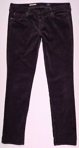 AG-Adriano-Goldschmied-The-Stevie-Slim-Straight-Corduroy-Pants-Size-32-Women-039-s