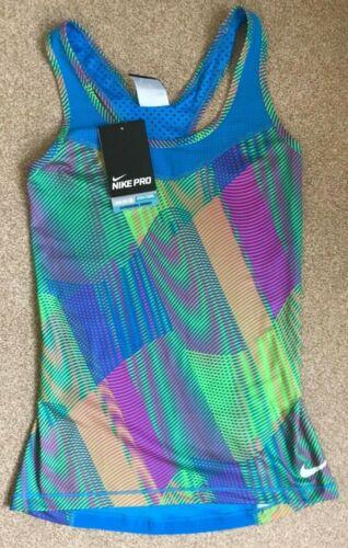 Nike Pro Hypercool Allenamento Top Taglia XS 6 NUOVO con etichetta frequenza Multicolore Nuovo con Etichetta