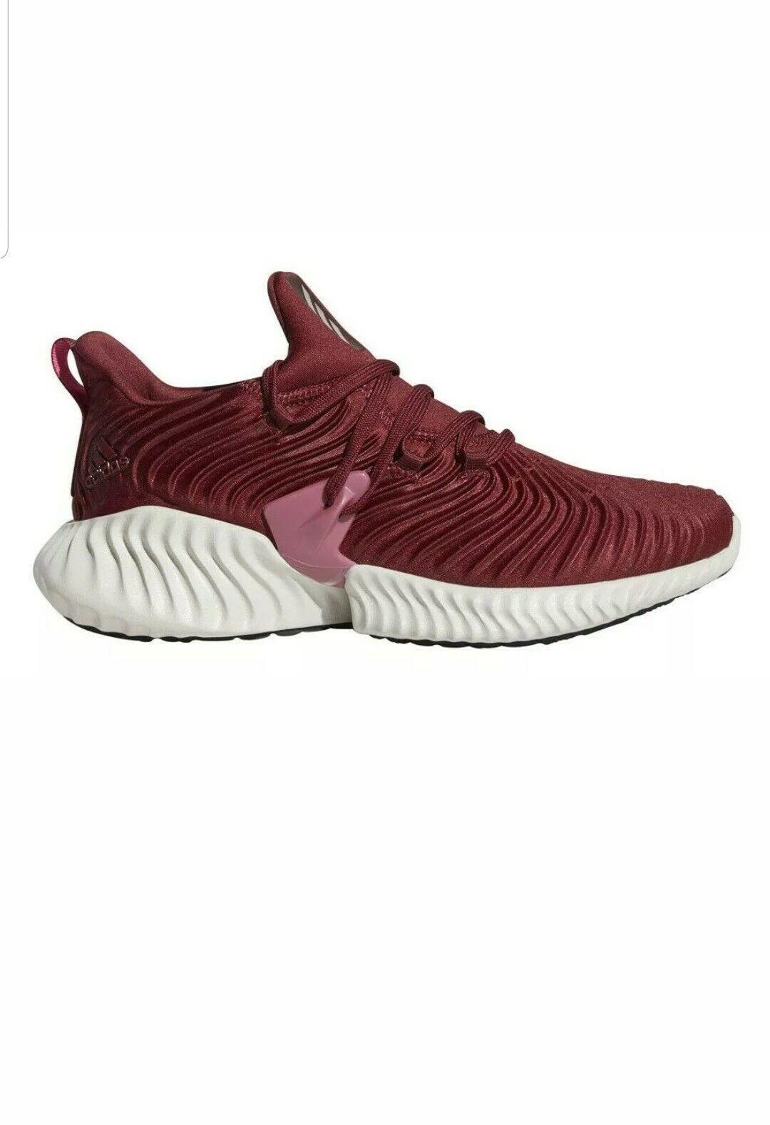 836d02fb9a4 Womens Adidas Alphabounce Instinct W W W Running Sneaker - Maroon ...