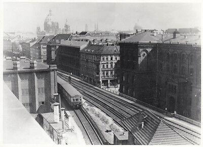 Suche Nach FlüGen Orig. Foto S-bahn Strecke Friedrichstrasse Richtung Osten 1937 (af154) Angenehme SüßE