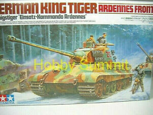 35252-Tamiya-1-35-German-WWII-KING-TIGER-Heavy-Tank-Ardennes-Front-Pro-Turret