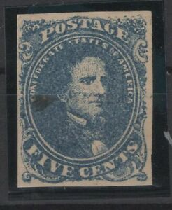 G138169/ USA – CONFEDERATE STATES / SCOTT # 4a MINT MH CV 275 $