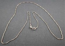 "Vintage Italy 20"" 925 Sterling Silver Chain Necklace"