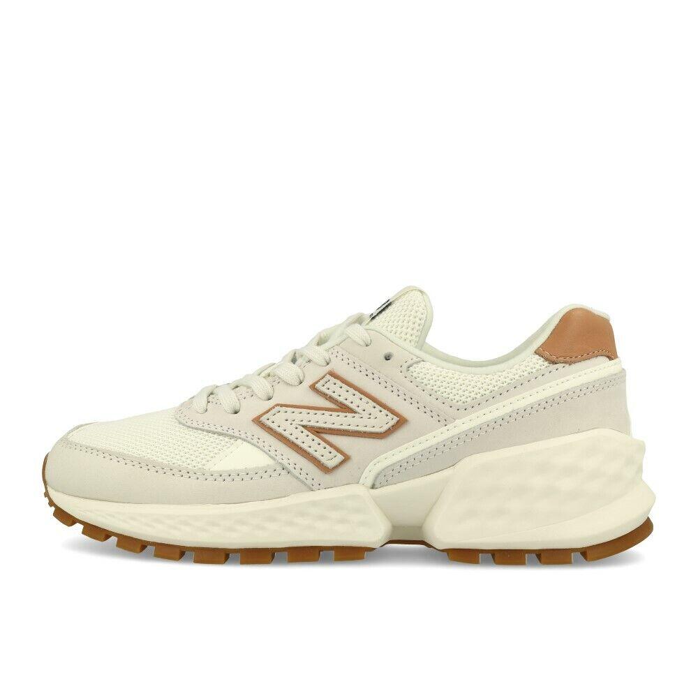 New Balance WS 574 B ADC Off Weiß Schuhe Turnschuhe Natur Weiß Braun