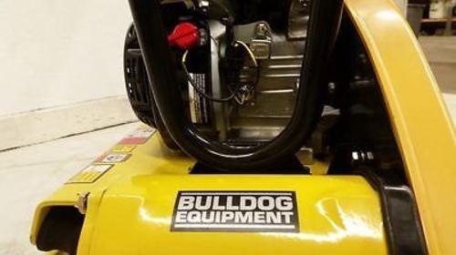 BD200 plate compactor soil packer tamper Honda GX160 208lbs. BullDog Mfg