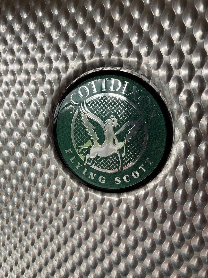 Guitar flight case , Scott Dixon Triple bass