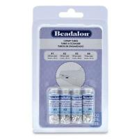 Beadalon Crimp Tube Variety Pack 1-4 Silver, Plated, 600-piece, New, Free Shipp on sale