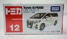 Takara Tomy Tomica 12 Toyota Alphard Vellfire Luxury MPV Minivan Model