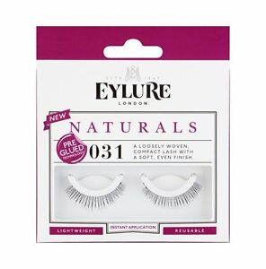adf12b2c73b Image is loading Eylure-False-Eyelashes-NATURALS-Pre-Glued-031-Genuine-