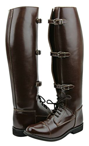 Hispar Ladies Stallion Fashion Field Horse Motorcycle Riding Boots Equestrian