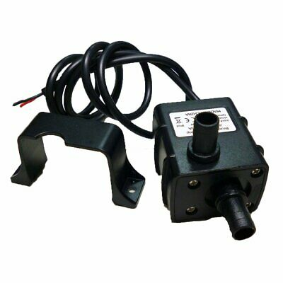 Anself Ultra-Silenzioso Mini DC12V Micro Pompa Acqua Olio Impermeabile 240L//H5W