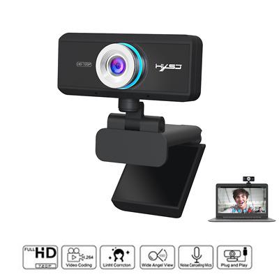 WEBCAM Fotocamera per computer hxsj HD Megapixel Webcam regolabile USB2.0