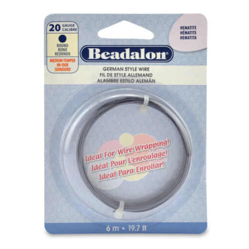 Different Shapes Beadalon® German Style Copper /& Brass Wire Tarnish Resistant